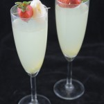 Cocktail aux litchies
