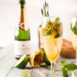 Mojito de champagne